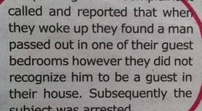 Valdez Police Report 3/10