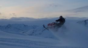 Hogback Snowmachine Trip