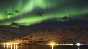 Aurora Borealis Over Valdez