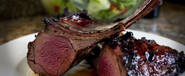 Grilled Rack of Venison